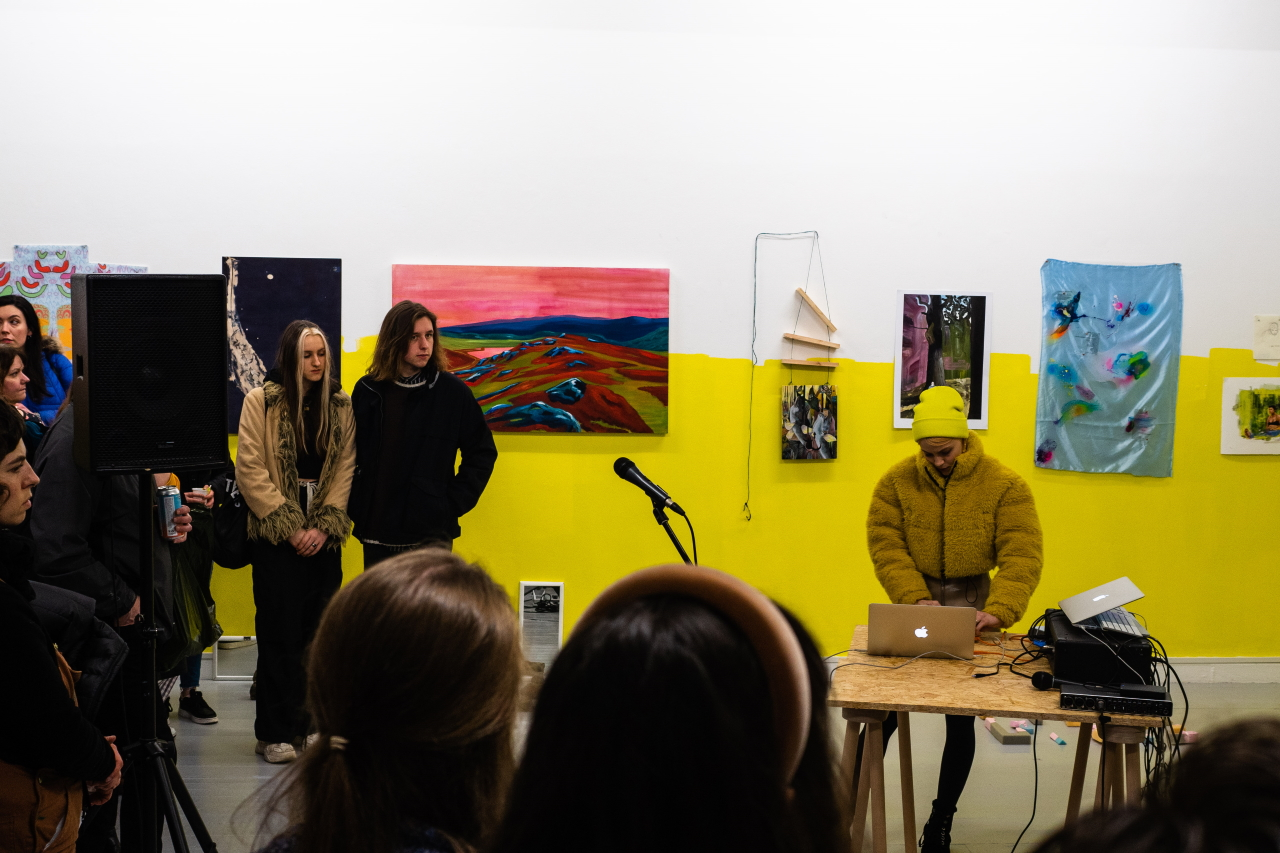 Lera Kelemen: Live Performance (Embassy Gallery) - Photo: Embassy Gallery Edinburgh