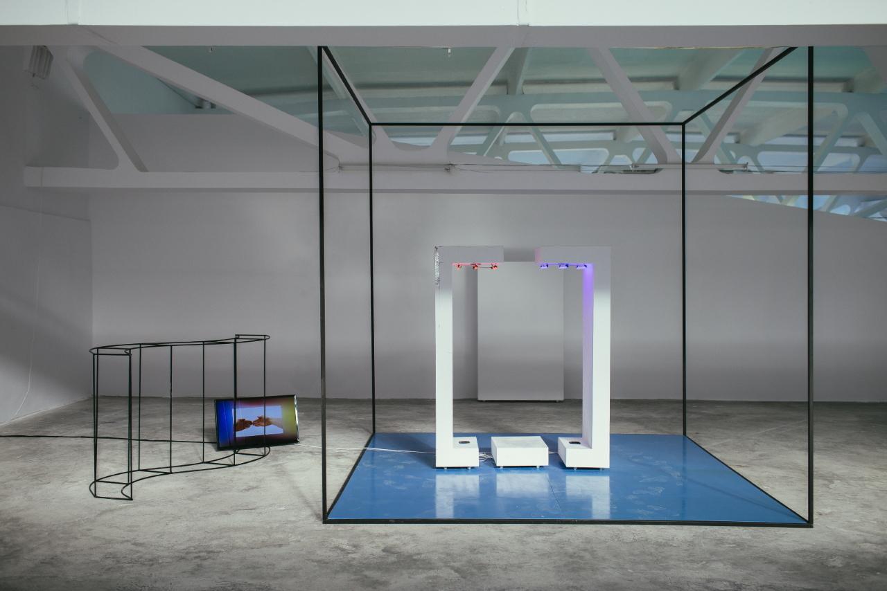 Lera Kelemen: Kinaesthetic Cabin (Kunsthalle Bega) - Photo: Adrian Câtu